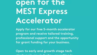 Photo of MEST Express Accelerator Cohort 2