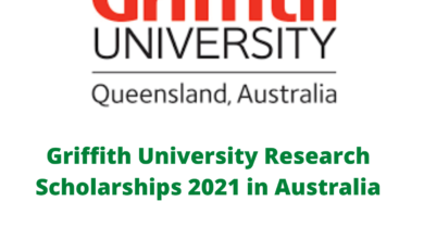 Photo of Griffith University Research Scholarships 2021 in Australia