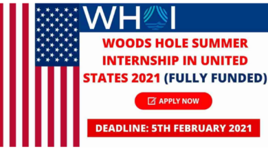 Photo of Woods Hole Internship 2021 in the United States – Fully Funded