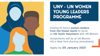 Photo of UN Young Women Leaders Initiative Program 2021
