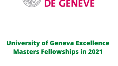 Photo of University of Geneva Excellence Masters Fellowships in 2021