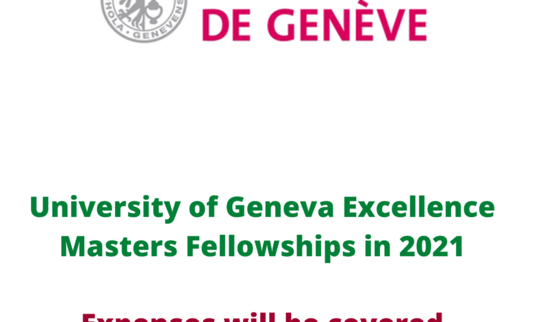 Excellence Masters Fellowships