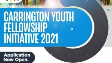 Photo of Carrington Youth Fellowship Initiative 2021 For Nonprofits and Social Enterprise Leaders