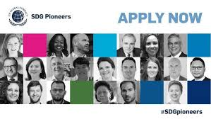 UN Global Compact 2021 call for Sustainable Development Goals (SDG) Pioneers