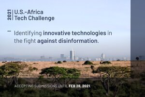 U.S. State Department's Global Engagement Center – Africa Tech Challenge 2021 – 0,000 USD in Funding