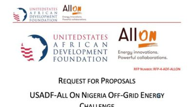 Photo of USADF-All On Off-Grid Energy Challenge 2021 – $100,000 Grant