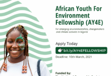 Photo of U-recycle Initiative African Youth for Environment (AY4E) Fellowship 2021