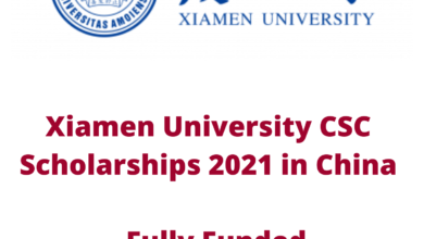 Photo of Xiamen University CSC Scholarships 2021 in China – Fully Funded