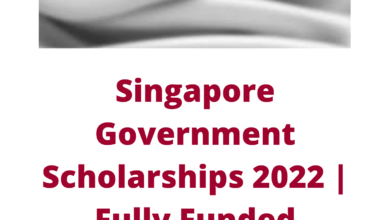 Photo of Singapore Government Scholarships 2022 | Fully Funded
