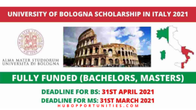 Photo of University of Bologna Government Scholarships 2021 in Italy – Fully Funded