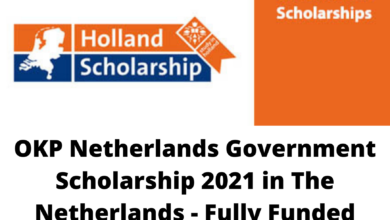 Photo of OKP Netherlands Government Scholarship 2021 in The Netherlands – Fully Funded