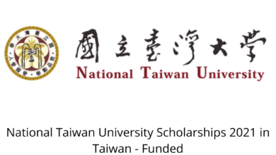 Photo of National Taiwan University Scholarships 2021 in Taiwan – Funded