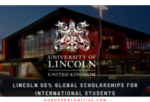 Photo of The University of Lincoln Global Scholarships in the UK 2021 – 50% Tuition-free
