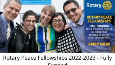Photo of Rotary Peace Fellowships 2022-2023 – Fully Funded