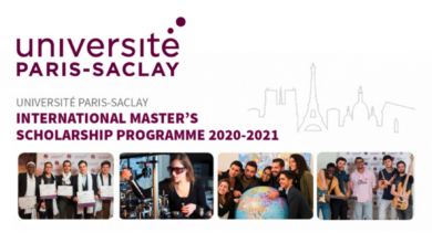 Photo of Paris-Saclay University International Scholarship 2021 in France – Fully Funded