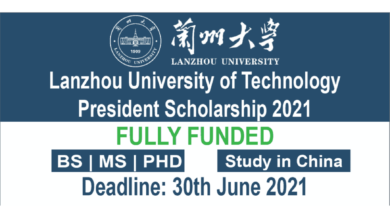 Photo of Lanzhou University of Technology President Scholarship 2021 – Fully Funded