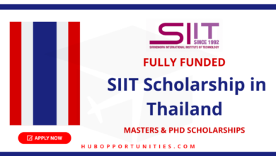 Photo of SIIT Graduate Scholarships 2021 in Thailand – Fully Funded