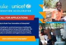 Photo of The Duke-UNICEF Innovation Accelerator Program 2021 For Impact Enterprises Across Africa
