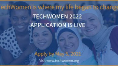 Photo of U.S Government Fully Funded TechWomen Emerging Leaders Program 2021/2022