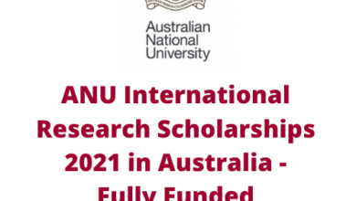 Photo of ANU International Research Scholarships 2021 in Australia – Fully Funded