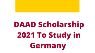 Photo of DAAD Scholarship 2021 To Study in Germany – Fully Funded