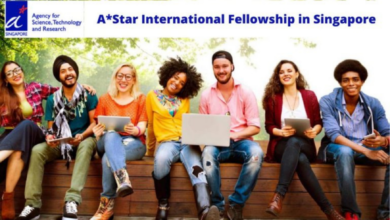 Photo of A*Star International Fellowship in Singapore – Funded