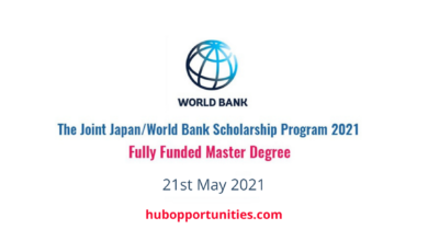 Photo of World Bank Graduate Scholarship Program 2021 – Fully Funded