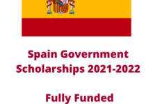 Photo of Spain Government Scholarships 2021-2022 – Fully Funded