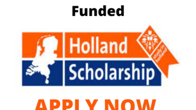 Photo of Holland Government Scholarships 2021  -Funded