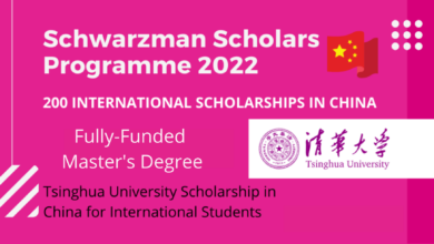 Photo of Tsinghua University Schwarzman Scholarship 2022 in China – Fully Funded
