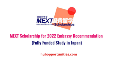 Photo of Japanese Government MEXT Scholarship 2022 in Japan – Fully Funded