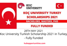 Photo of Koc University Turkish Scholarship 2021 in Turkey – Fully Funded