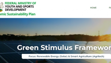 Photo of Federal Gov't Green Stimulus Programme 2021 For Nigerians