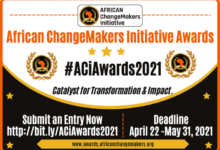 Photo of African ChangeMakers Initiative Awards 2021