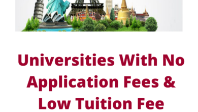 Photo of Universities With No Application Fees & Low Tuition Fee Universities
