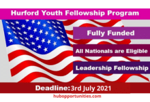 Photo of Hurford Youth Fellowship Program 2022 in the USA – Fully Funded
