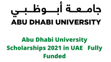 Photo of Abu Dhabi University Scholarships 2021 in UAE – Fully Funded