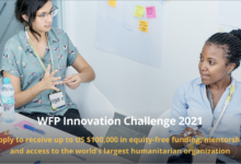 Photo of WFP Innovation Challenge 2021